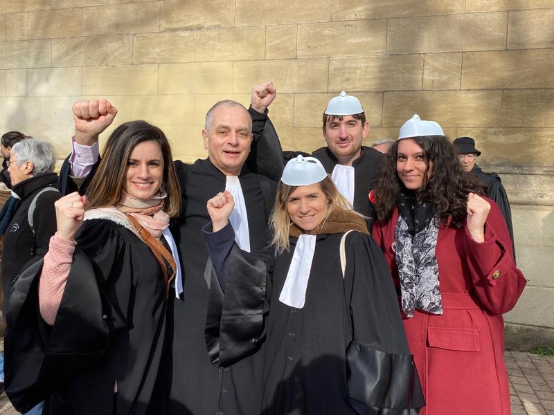 Grève des avocats